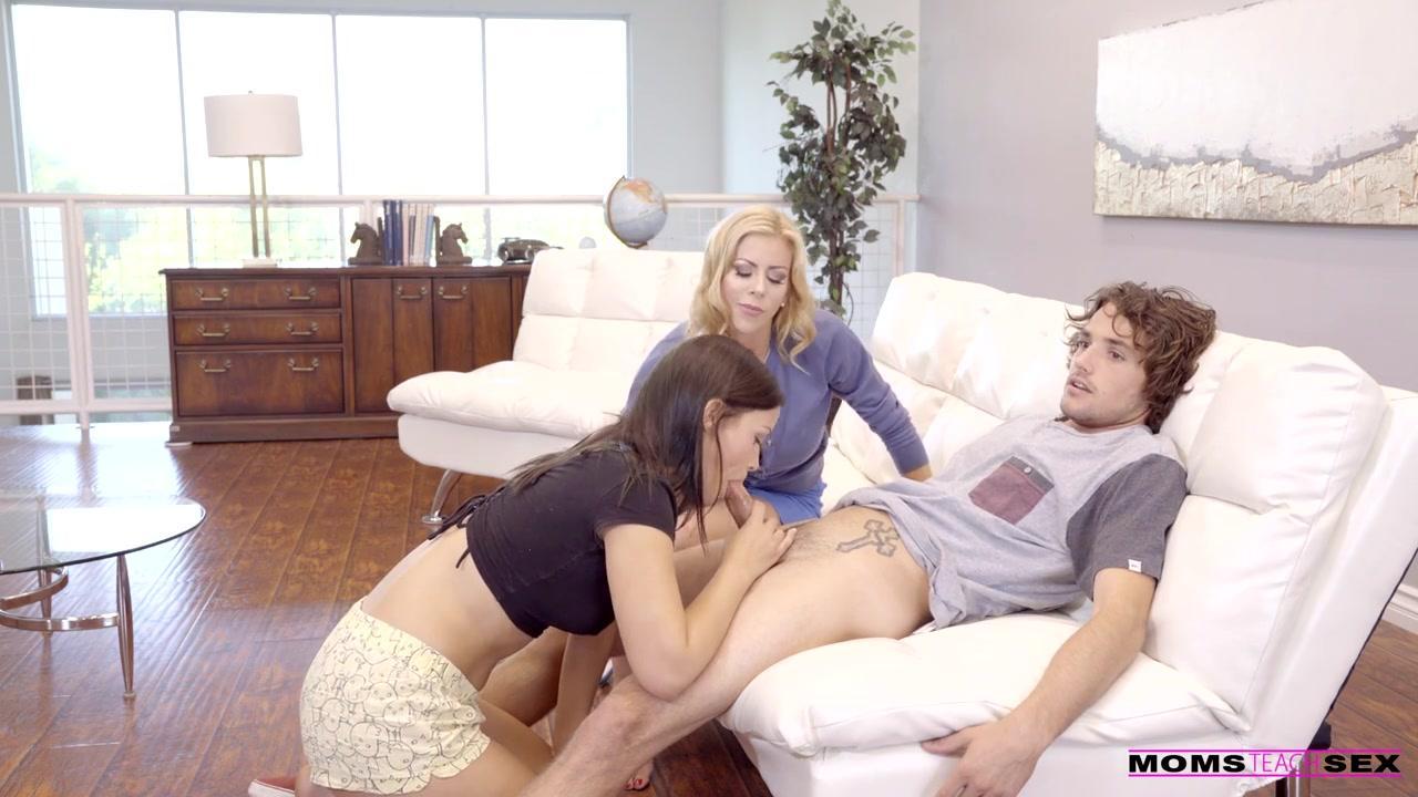 Sexy Neighbor threesome porn